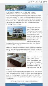 the flaneburg hotel flamborough website