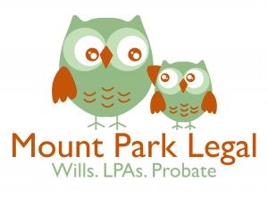 case studies, mount park legal Scarborough logo graphic design