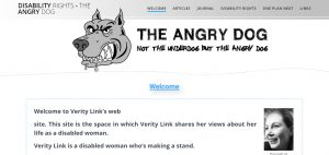 angry dog website