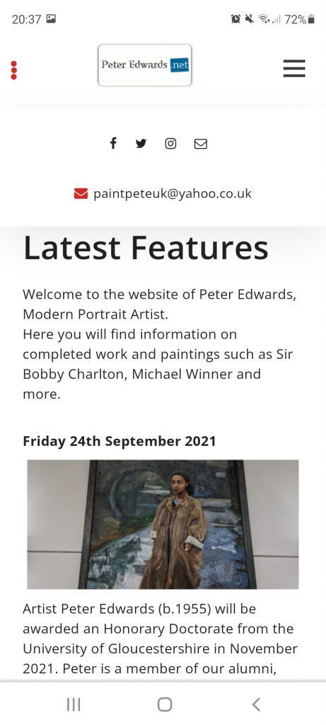 peter edwards website portrait artist national portrait gallery